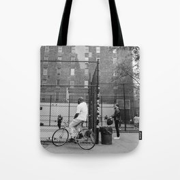 New York Basketball III Tote Bag