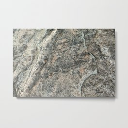 Natural Rock Impressions (Lake Tahoe, California) Metal Print