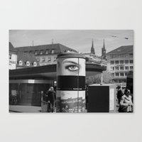 EYE OF THE CITY Canvas Print