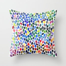 rain 19 Throw Pillow