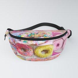 doughnut grid Fanny Pack
