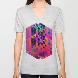 synthstar retro:80 Unisex V-Neck