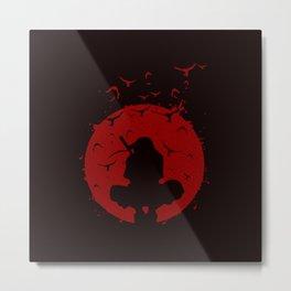 Shadow of Itachi Metal Print