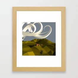 They Curled Just At The Top Framed Art Print