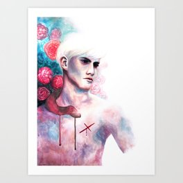 The Damned Art Print