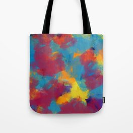 A Tropical Paradise - Abstract Art Tote Bag
