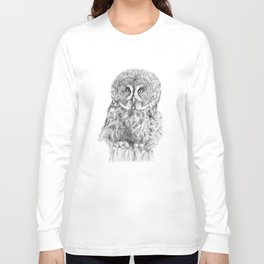 The Great Grey Owl Long Sleeve T-shirt