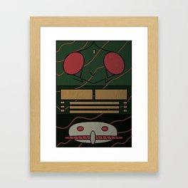 Kamen Rider Amazon Framed Art Print