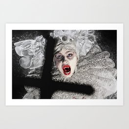 Lucy Westenra Art Print
