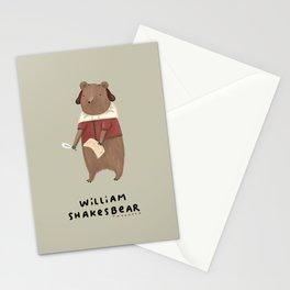 William Shakesbear Stationery Cards