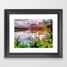 Colorado River at Moab Framed Art Print