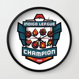 Indigo League Champion - Red Version Wall Clock