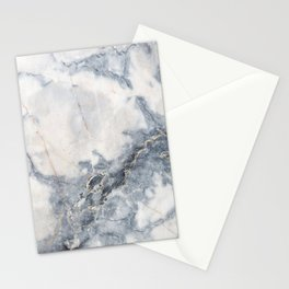 Gray Marble Texure Stationery Cards