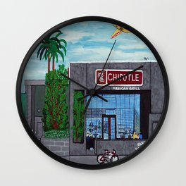 Chipotle - Hollywood Wall Clock