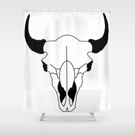 Bison Bison Shower Curtain
