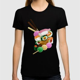 Sushi and Sweets - Full design T-shirt