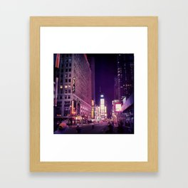 Ghost-Town-Square Framed Art Print