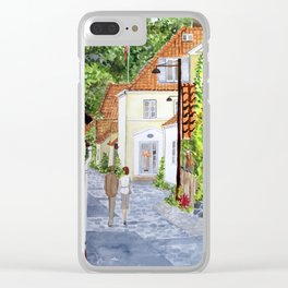 Walking Home Clear iPhone Case