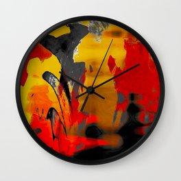 Le Volcan Wall Clock