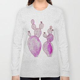 Cactus 42 pink Long Sleeve T-shirt