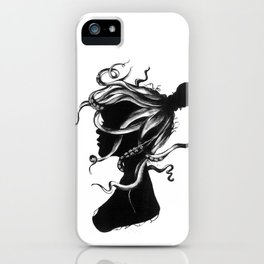 Squindy Silhouette iPhone Case