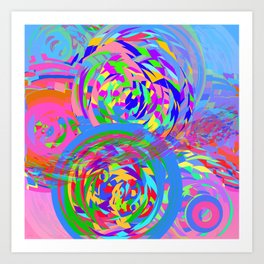 Collider Art Print