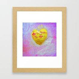 LOVE AND PEACE Framed Art Print