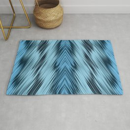 stripes wave pattern 8v1 coi Rug