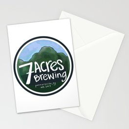 7 Acres Brewing Stationery Cards