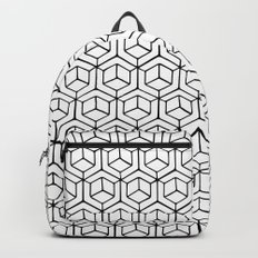 Hand Drawn Hypercube Backpack