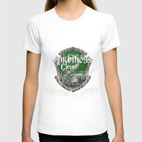 slytherin T-shirts featuring Slytherin Pride by iiNTRIGUE