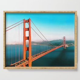 Golden Gate Serving Tray