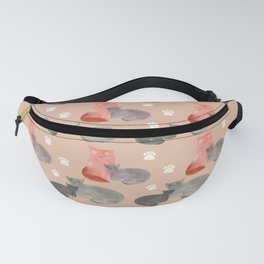 Snuggling ugly cats spring 2021 Fanny Pack