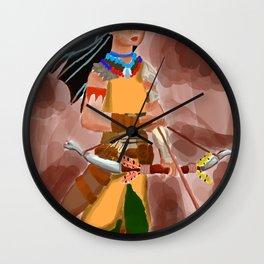 Horizon Zero Dawn Pocahontas Wall Clock