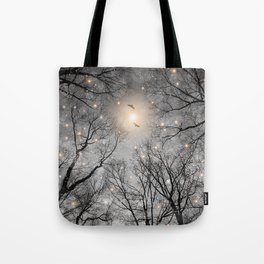 Nature Blazes Before Your Eyes 2 (Ash Embers) Tote Bag