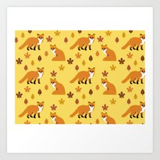 Fox Trot 3.0 Art Print