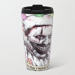 xoxo Twisty (color) Metal Travel Mug