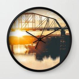Peaceful Morning Wall Clock