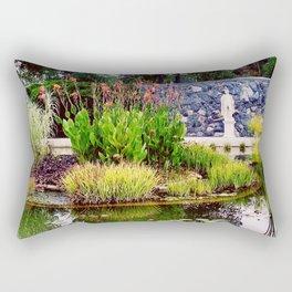 Water Garden Rectangular Pillow
