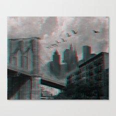 NYC 3D Canvas Print