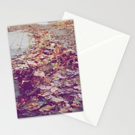 Autumn Path Stationery Cards