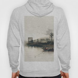 Island of Philae on the Nile Nubia  by David Roberts (1796-1864) Hoody