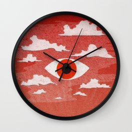 Safety Matches: Psyche Wall Clock