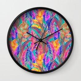 Tropic Exotic Wall Clock