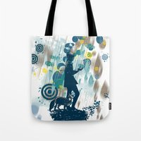le petit prince Tote Bags featuring le petit prince 2010 by frederic levy-hadida