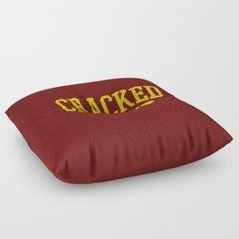 Cracked Alumni Floor Pillow
