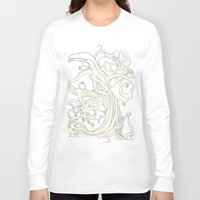 lime Long Sleeve T-shirts featuring Lime Tree by KATIE PAYNE