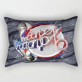 The Barber Factory Rectangular Pillow