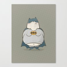 Too Fat To Bat Canvas Print