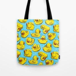 Adventure Duck Tote Bag